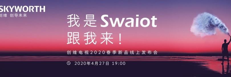 我是Swaiot跟我来 创维电视2020新品发布会直播